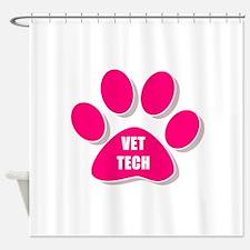 Cool Veterinary technician Shower Curtain