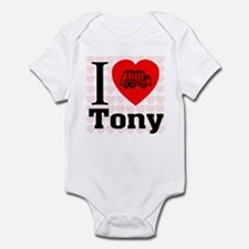 I Love Tony Infant Bodysuit