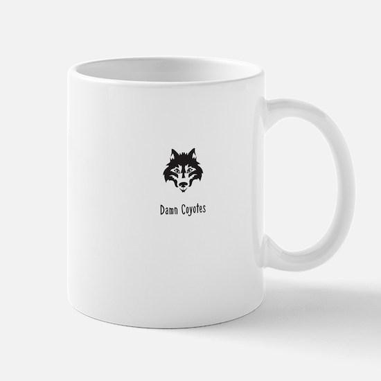 Damn Coyotes Mugs