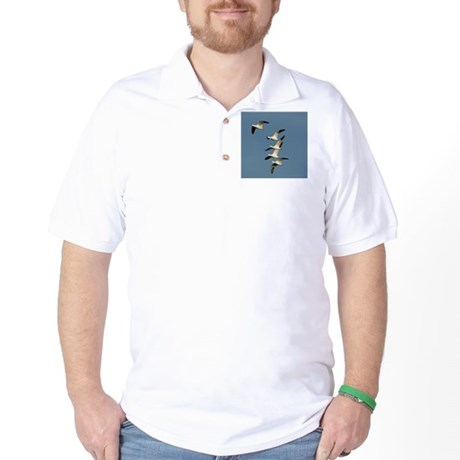 Snow Geese Golf Shirt
