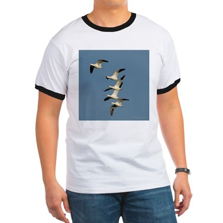 Snow Geese Ringer T