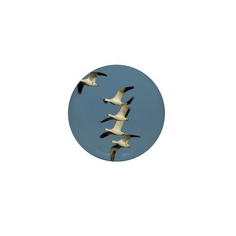 Snow Geese Mini Button