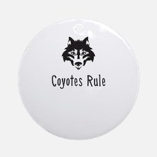 Coyotes Rule Ornament (Round)