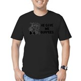 Burpees Fitted Dark T-Shirts