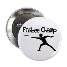 """Frisbee Champ 2.25"""" Button"""