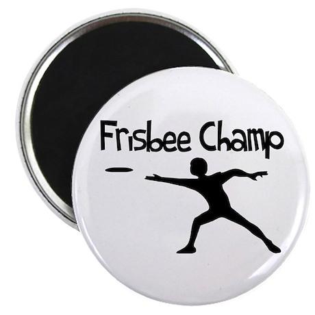 Frisbee Champ Magnet