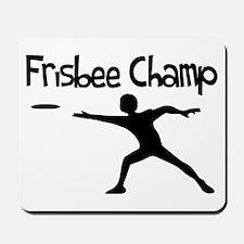 Frisbee Champ Mousepad