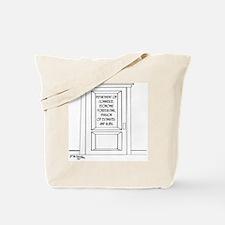 Economics Cartoon 3781 Tote Bag