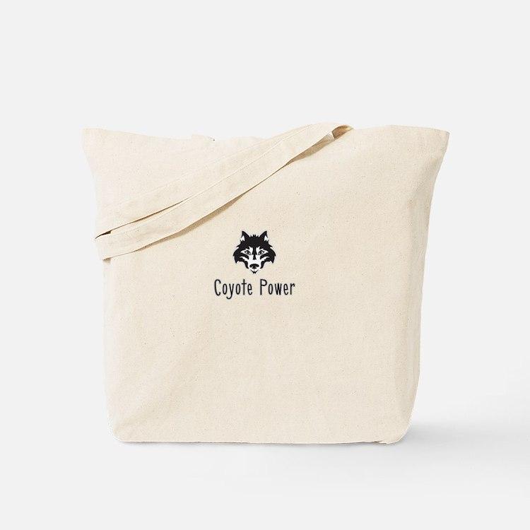 Coyote Power Tote Bag