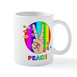 Colorful Peace Symbol Mug