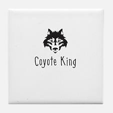 Coyote King Tile Coaster