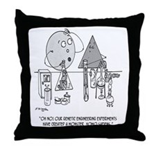 Genetics Cartoon 0313 Throw Pillow