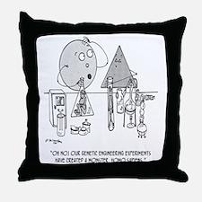 Genetics Cartoon 0313 Throw Pillow