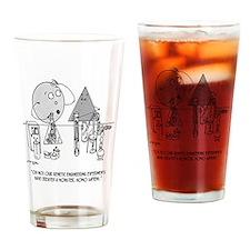 Genetics Cartoon 0313 Drinking Glass