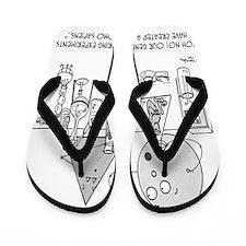 Genetics Cartoon 0313 Flip Flops