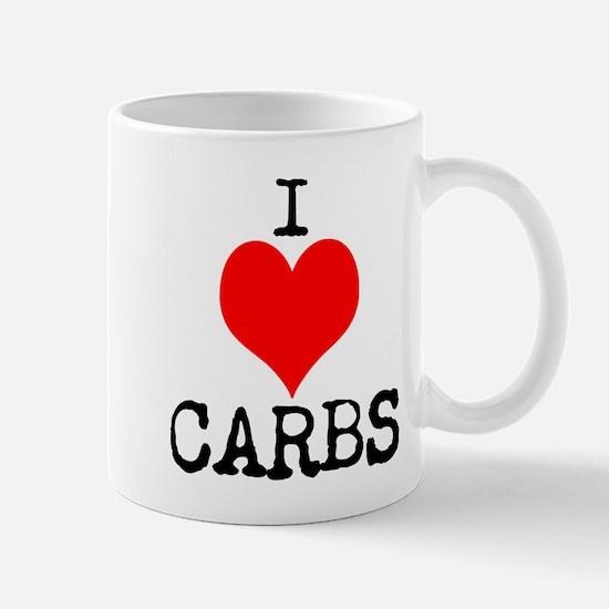 I heart Carbs Mugs