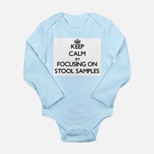 Keep Calm by focusing on Stool Samples Body Suit