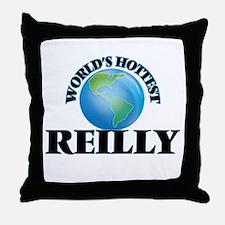 World's hottest Reilly Throw Pillow