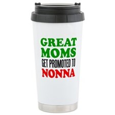 Promoted To Nonna Drinkware Travel Mug