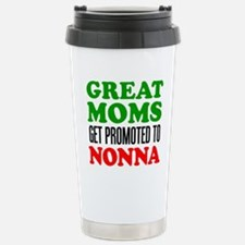 Promoted To Nonna Drinkware Travel Mug