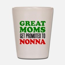 Promoted To Nonna Drinkware Shot Glass