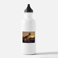 german shepherd Water Bottle