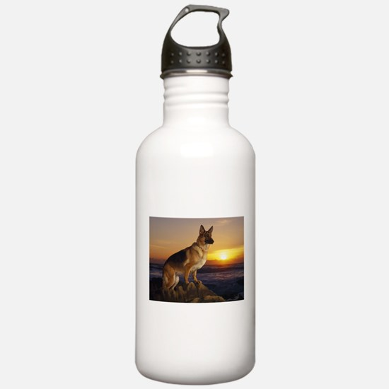 german shepherd Water Bottle