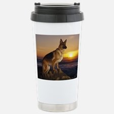 german shepherd Stainless Steel Travel Mug