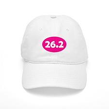 Pink 26.2 Oval Baseball Cap
