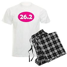 Pink 26.2 Oval pajamas