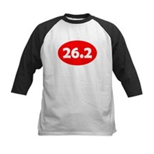 Red 26.2 Oval Baseball Jersey