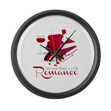 Need Romance Books Large Wall Clock