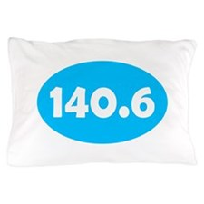 Sky Blue 140.6 Oval Pillow Case