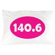 Pink 140.6 Oval Pillow Case