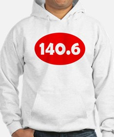 Red 140.6 Oval Hoodie