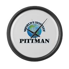 World's hottest Pittman Large Wall Clock