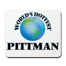 World's hottest Pittman Mousepad