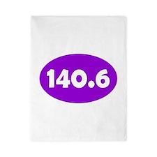 Purple 140.6 Oval Twin Duvet