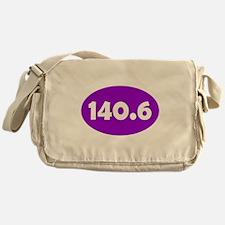 Purple 140.6 Oval Messenger Bag