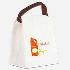 Bleach It Canvas Lunch Bag