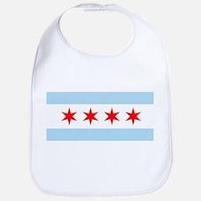 Chicago Flag Bib