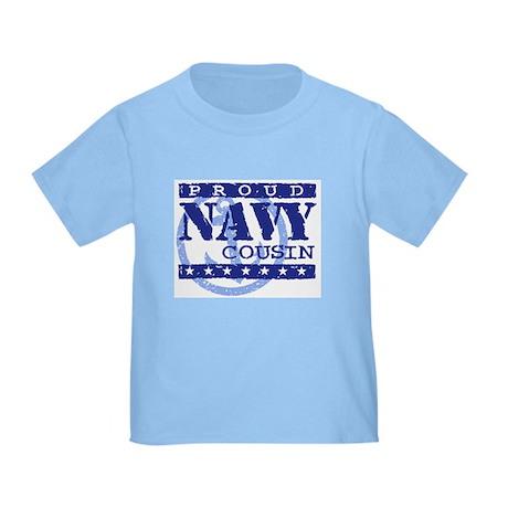 Proud Navy Cousin Toddler T-Shirt