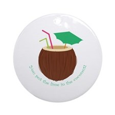 Lime In Coconut Ornament (Round)