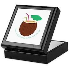 Lime In Coconut Keepsake Box