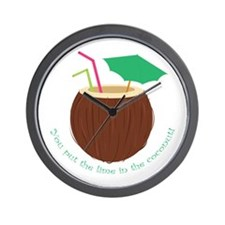 Lime In Coconut Wall Clock