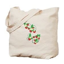 Strawberry Vine Tote Bag