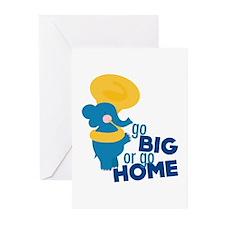 Go Big Greeting Cards