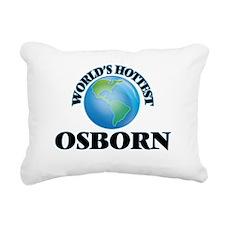 World's hottest Osborn Rectangular Canvas Pillow