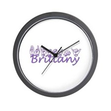 Brittany Wall Clock