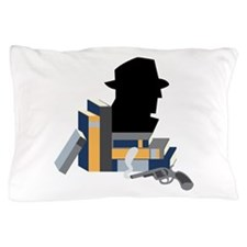 Mystery Books Pillow Case